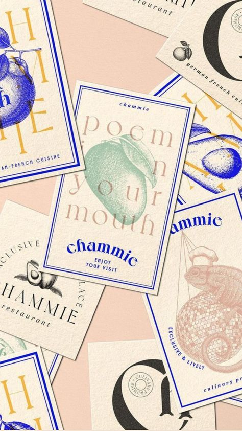 Chammie restaurant bar and club brand identity design by Byira.de