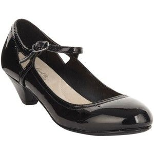 Wider fit black low heel court shoes | Courtney Love Costume ...