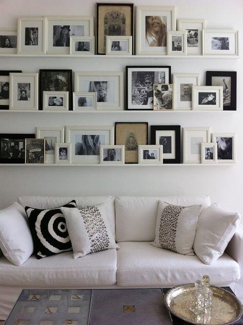 cornici Arredamento, Idea di decorazione e Pareti