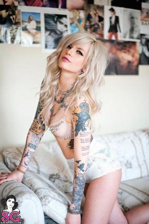 Suicide Girls Tattoo