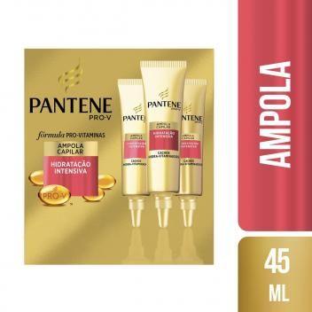 Kit 3 Ampola De Tratamento Pantene Cachos Hidra Vitaminados 15ml