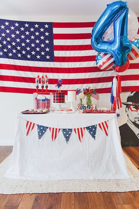4th of July Party Ideas | Holidays   Entertaining | 100 Layer Cakelet