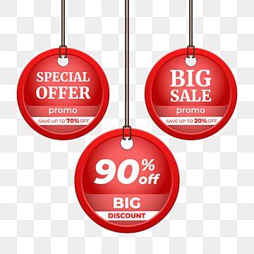 مجموعة من علامات الأسعار وشارات ثلاثية الأبعاد توجد ثلاثة خيارات للعلامات أو الشارات التي تحتوي على عبارة 90 خصم كبير جد ا عرض خاص بيع كبير علامات وشارا In