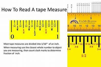 How To Read A Tape Measure Bing Tape Measure Fraction Measurement Reading Inches reading tape measure worksheet