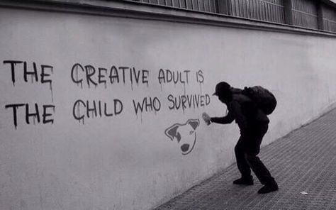The Meaning Of Creativity In Today's Society. Makes me think of my