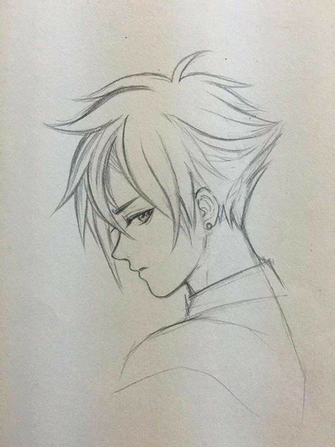 53 Ideas For How To Draw Hair Anime Boy Anime Drawings Boy Anime Drawings Sketches Anime Drawings