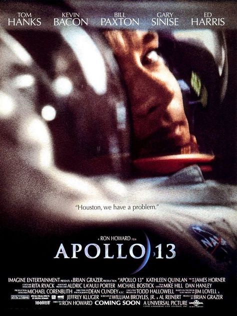 In 1970, the Apollo 13 moon mission developed a critical fault. This movie is the story of what mission control did to try to get the astronauts back safely, and how the astronauts coped with being stranded in outer space