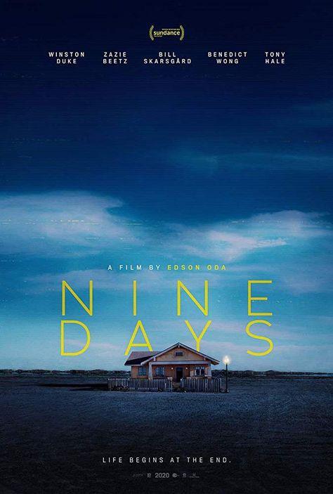 Nine Days 2020 Bill Skarsgard Movie Posters Human Soul
