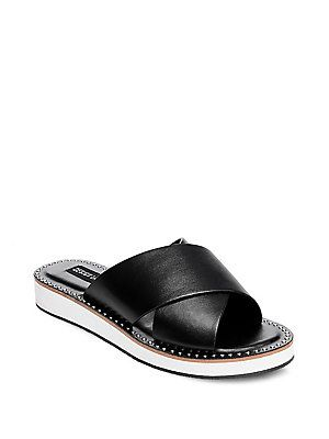 Taylor Debi Crisscross Slip-on Sandals