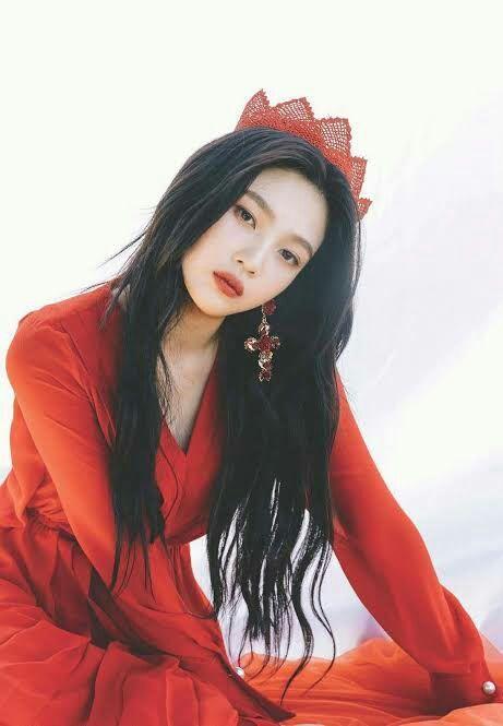 Unexpectedly Characters Red Velvet Joy Red Velvet Mermaid Outfit For Toddler