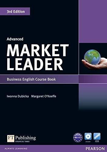 Market Leader 3rd Edition Advanced Coursebook & DVD-Rom Pack (3rd Edition) - Default
