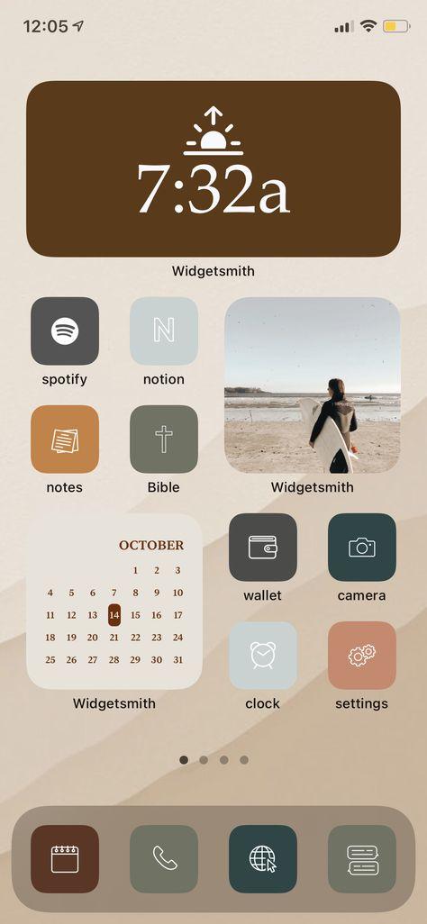 FREE ios 14 Home Screen app covers.