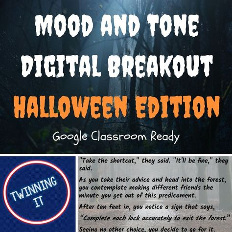 Halloween Digital Breakout: Tone and Mood