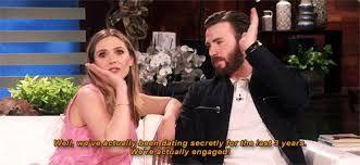 Image Result For Elizabeth Olsen And Chris Evans Chris Evans Elizabeth Olsen Chris