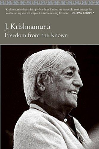 Freedom From The Known By Jiddu Krishnamurti Freedom From The Known Enlightenment Books Jiddu Krishnamurti