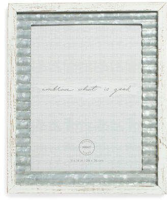 11x17 Wooden Wall Frame With Galvanized Mat Frames On Wall Wooden Walls Frame