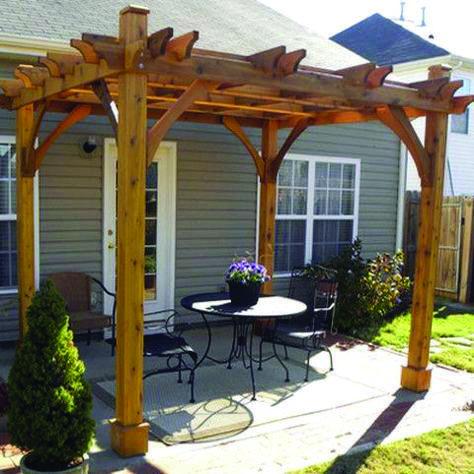 Elite Pergola Canopy Waterproof Only On Shopyhomes Com Outdoor Pergola Backyard Pergola Pergola Shade