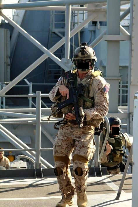 SEALs doing some VBSS training (visit,board,search and seizure).