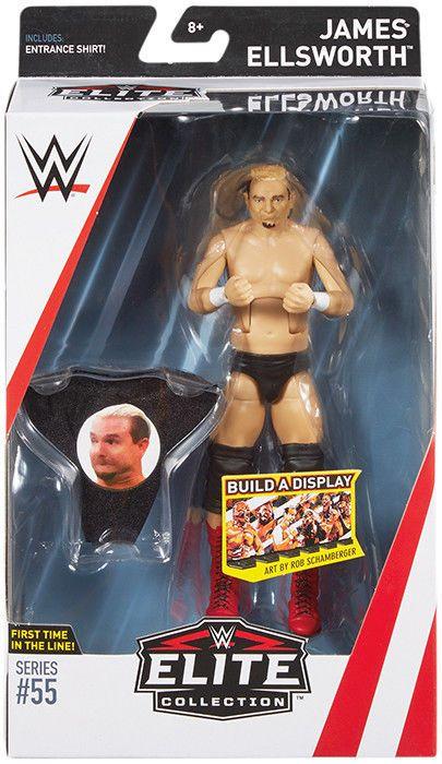 James Ellsworth Wwe Elite 55 Mattel Toy Wrestling Action Figure
