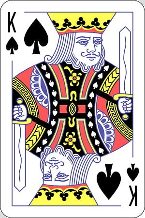 King Of Spade Playing Card King Of Spades Playing Card Suit Jack Queen Transparent Background Png Clipart Playing Cards Art Ace Card Hearts Playing Cards