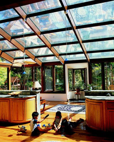 Lovely Sunroom Four Season