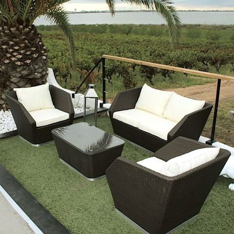 Intimity Garden Furniture Uv Resistant Braided Resin And