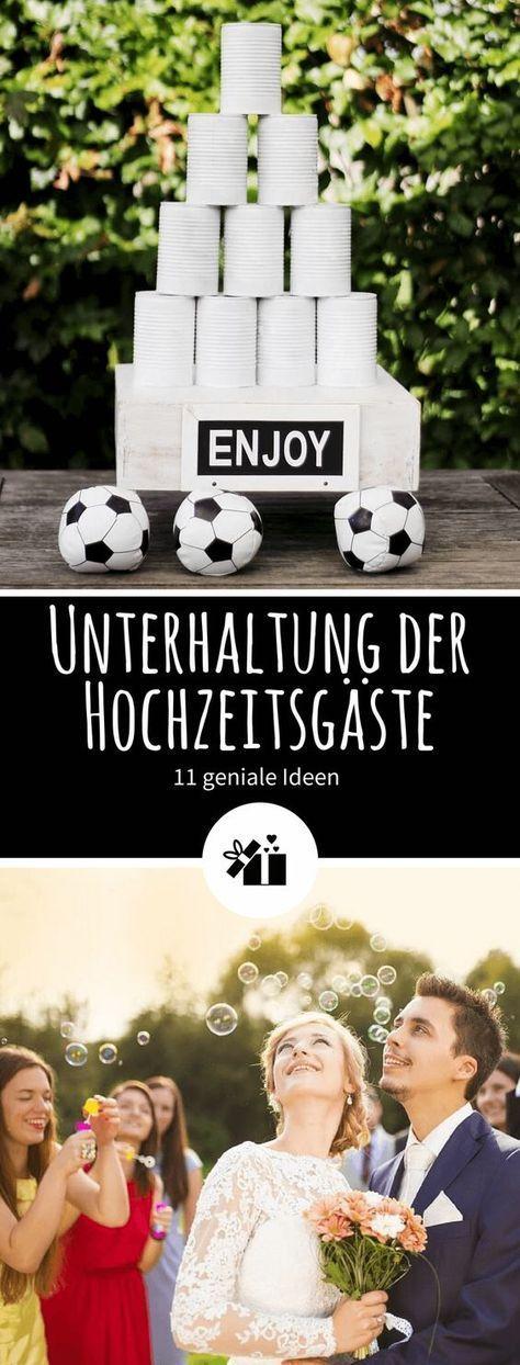 11 Geniale Ideen Zur Unterhaltung Der Hochzeitsgaste Hochzeitskiste Hochzeit Lustig Lustige Hochzeitsideen Hochzeit Spiele