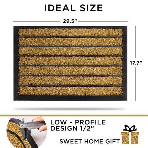 Doormat Outdoor Rubber