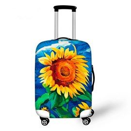 Little Daisy Travel Luggage Cover Suitcase Protector Washable Zipper Baggage Cover