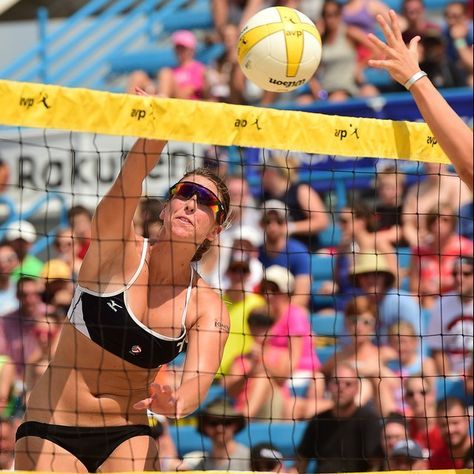 Avp Pro Tour Athlete Kelley Larsen With Images Volleyball Articles Beach Volleyball Athlete