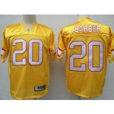 Buccaneers 20 Ronde Barber Yellow Stitched Nfl Jersey Nfl Football Jersey Nfl Jersey