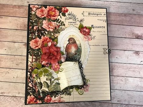 Greeting Cards Flower Style Metal Cutting Dies Paper Cards Diary Crafts J/&S