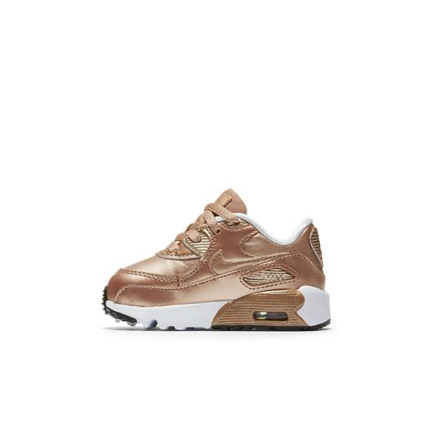 uk availability 73ab5 79095 Nike Air Max 90 SE Leather Infant Toddler Shoe Size 10C (Brown)