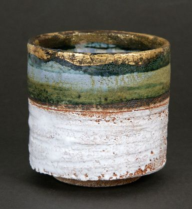 Bowl by Robin Welch... color! registers of color that make a landscape to the eye.