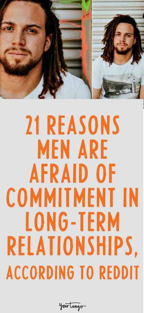 Why So Many Men Struggle With The Idea Of Being In Long-Term