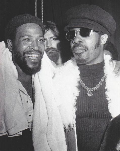 Marvin Gaye & Stevie Wonder  two of my favorites