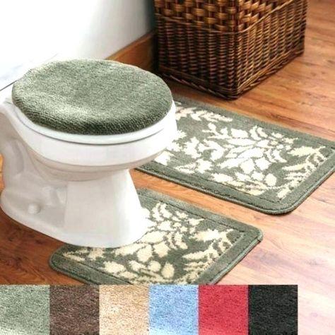 Outstanding 3 Piece Bathroom Rug Set Pics Ideas