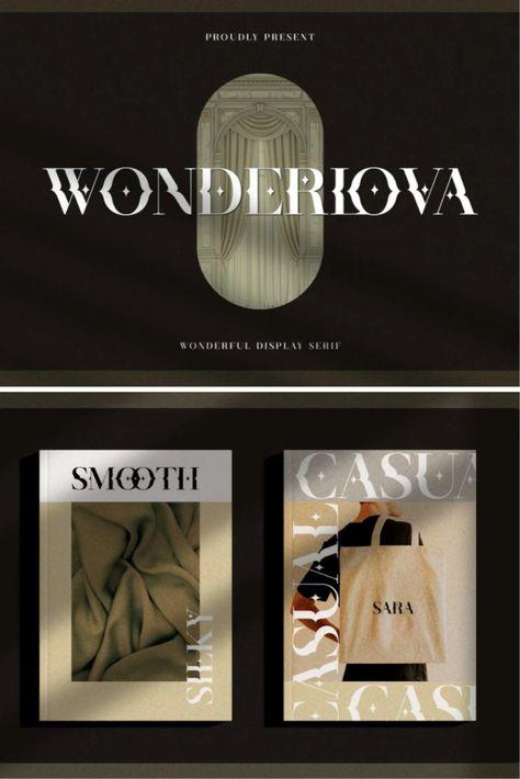 Wonderlova - Wonderful Display Serif
