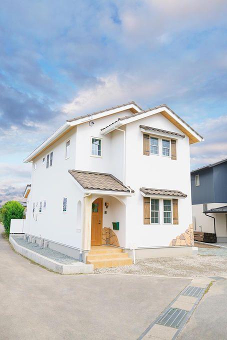 長野県長野市 家事を楽しめるいえ おうちギャラリー 片流れ 外観