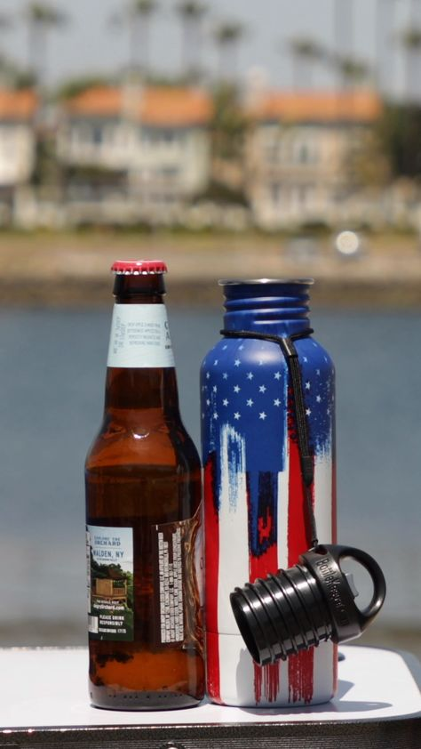 Cold Beer For up to 2 Hours! American Graffiti BottleKeeper Standard 2.0