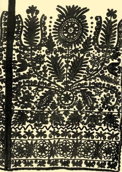 Kalatoszegi embroidery - could be a nice illustration, too!