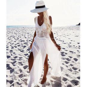 robe de plage pas transparente