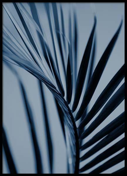 Plakater Online Posters Plakat Poster Desenio Dk Blue Plants Buy Art Print Gold Poster