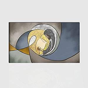 Capezzale Letto.Quadro Capezzale Dipinto A Mano Per Camera Da Letto Sacra Famiglia