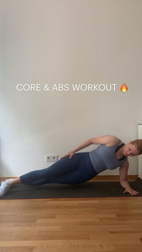 CORE & ABS WORKOUT 🔥45sec on, 15sec off, 4-5 rounds