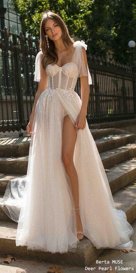 Berta MUSE 2019 Wedding Dresses 2019 #wedding #weddings #weddingideas #deerpearlflowers #bridaldresses