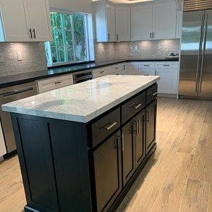 Item 167 Kitchen Island With Seating And Tapered Legs Etsy In 2020 Custom Kitchen Island Kitchen Island With Seating Kitchen Island Cabinets