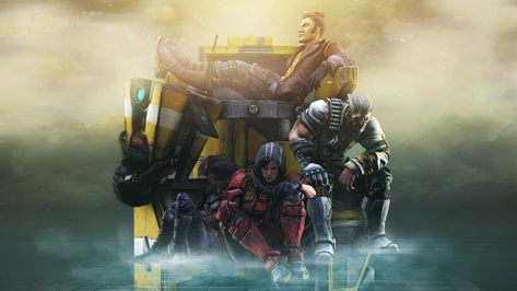 Wallpaper Borderlands The Pre Sequel Xbox Games Wallpapers Ps