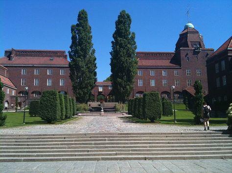 Pixabayの無料画像 大学 Kth 王立工科大学 煉瓦造建築物 木