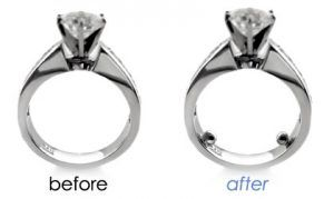 What To Do If Your Engagement Ring Is Too Big Ring Size Large Engagement Rings Make A Ring Smaller